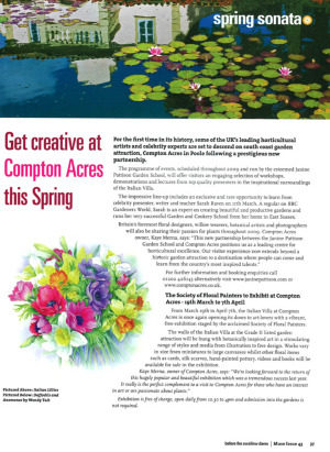 AMATEUR GARDENING MAGAZINE ARTICLE