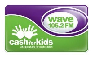 WAVE 105 CASH FOR KIDS CHARITY AUCTION WINNER!