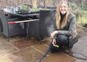JANINE IS THE NEW FACE OF ARGOS GARDENING
