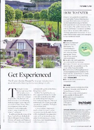 JPS JOINS FORCES WITH THE ENGLISH GARDEN MAGAZINE