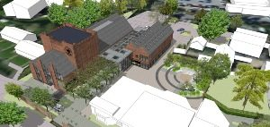 GREYFRIARS ARTS CENTRE PLANNING APPROVED
