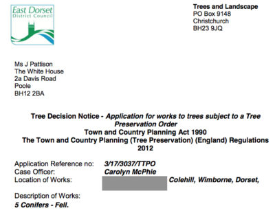 TREE WORKS APPLICATION SUCCESS FOR JPS!
