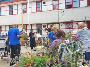OPENING OF THE PETAL GARDEN FOR ROYAL BOURNEMOUTH HOSPITAL