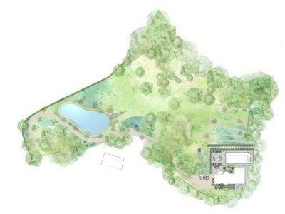 STUNNING NEW LAKE FOR DORSET GARDEN